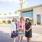 Vicepresidente y Directora del Buró de visitantes del Centro de Convenciones de McAllen, Nancy Millar; Presidente del South Texas College, Shirley A. Reed; y Comisionada de la Ciudad de McAllen Verónica Whitacre.