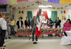 Lorenzo Moisés Preciado Murguía, del Consulado de México en McAllen, fue quien realizó el tradicional grito.
