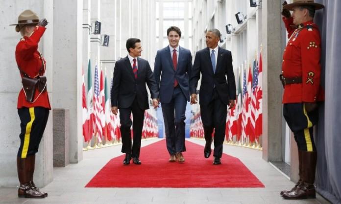 Se prevé que Peña Nieto y Barack Obama sostengan un encuentro bilateral con una duración aproximada de media hora, antes de reunirse con Trudeau.