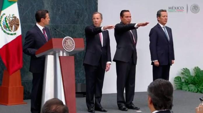 José Antonio Meade Kuribreña y Luis Enrique Miranda toman protesta.