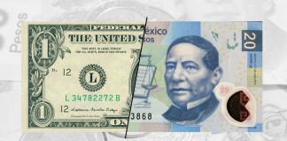Subió el dólar hasta los $20.08 en bancos de la Ciudad de México.