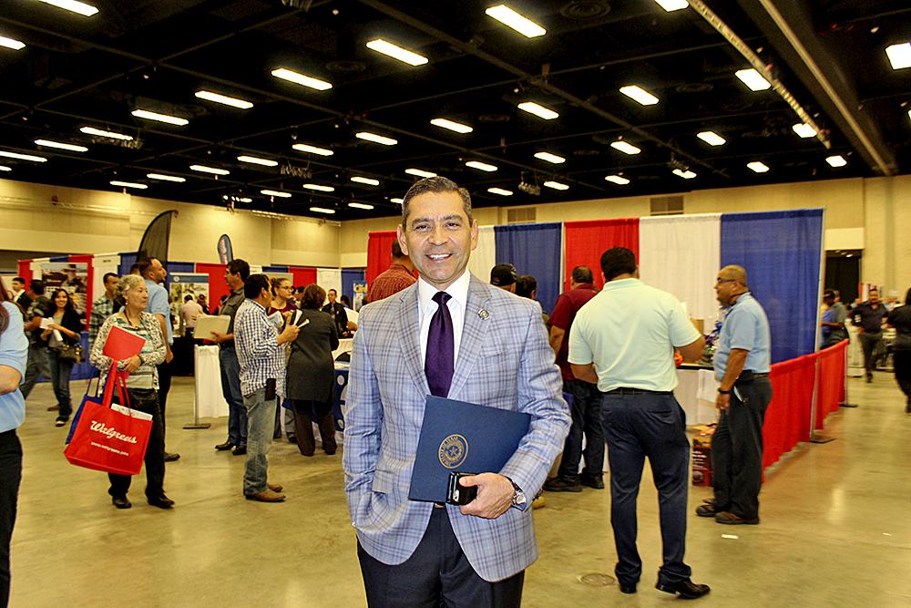 Julián Alvarez, comisionado de WFC, indicó que ésta es una excelente oportunidad para todos los veteranos de acercarse a los empleadores.