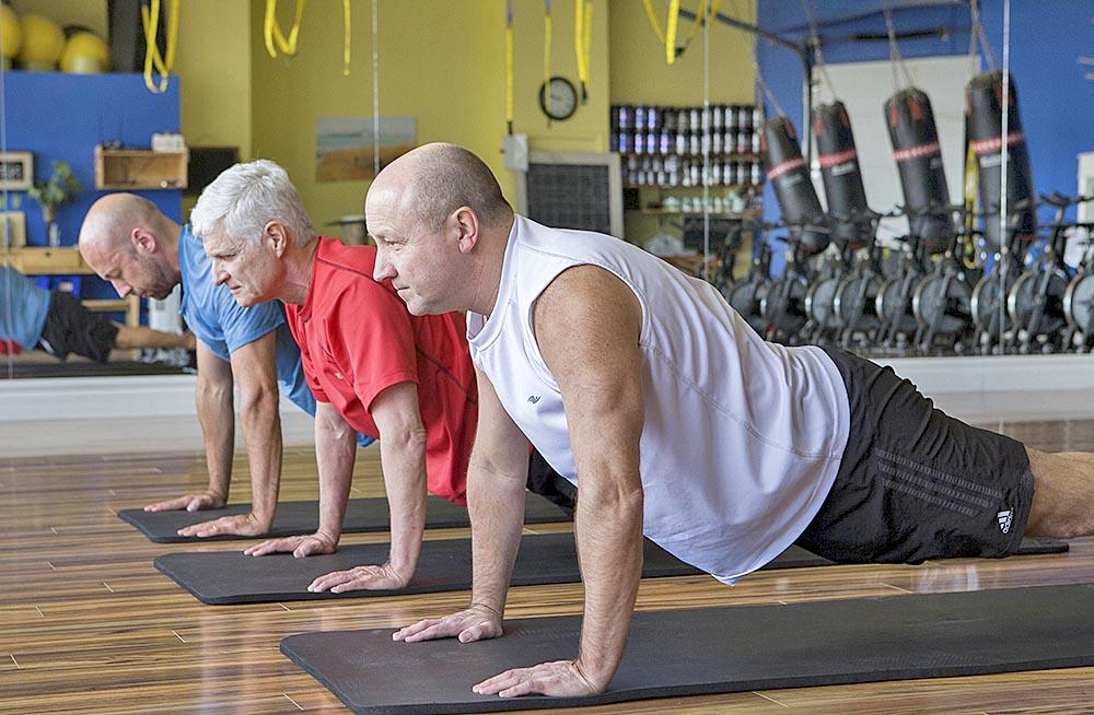 Pérdida de masa muscular después de los 30 años causa