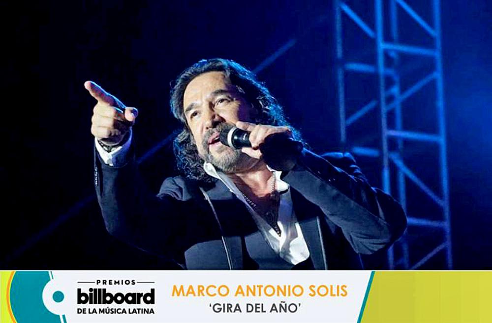 Marco Antonio Solís nominado a \'Gira del Año\' por \'Y la historia ...